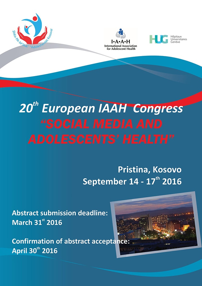 20th European IAAH Congress Kosovo